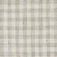 Grey Plaid Drapery and Upholstery Fabric by Duralee