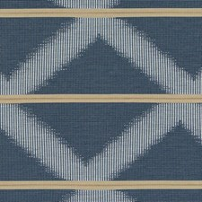 Indigo Diamond Drapery and Upholstery Fabric by Duralee