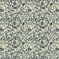 Evening Blue Drapery and Upholstery Fabric by Kasmir
