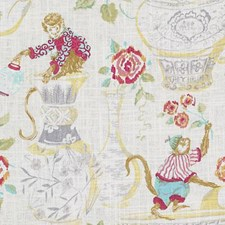 Jonquil Animal Drapery and Upholstery Fabric by Duralee