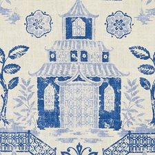 Lapis Asian Drapery and Upholstery Fabric by Duralee