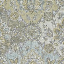 Jade Damask Drapery and Upholstery Fabric by Duralee