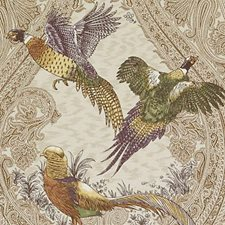 Wheat Birds Drapery and Upholstery Fabric by Duralee