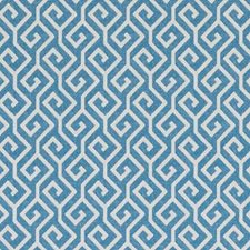 Sky Geometric Drapery and Upholstery Fabric by Duralee