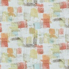 Melon Abstract Drapery and Upholstery Fabric by Duralee