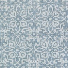 Aegean Floral Small Drapery and Upholstery Fabric by Duralee