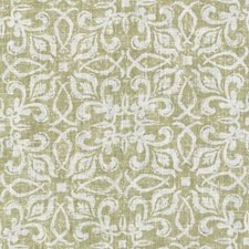Peridot Floral Small Drapery and Upholstery Fabric by Duralee