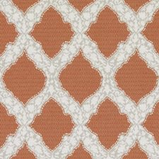 Coral Medallion Drapery and Upholstery Fabric by Duralee
