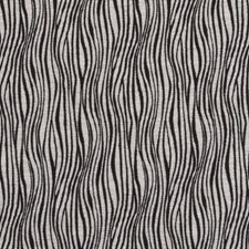 Black/White Stripe w Drapery and Upholstery Fabric by Duralee