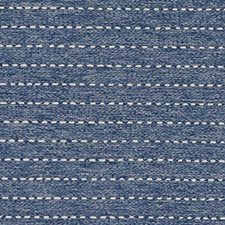 Denim Stripe Drapery and Upholstery Fabric by Duralee