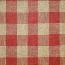Chili Check Drapery and Upholstery Fabric by Pindler