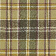 Sage Plaid Drapery and Upholstery Fabric by Duralee