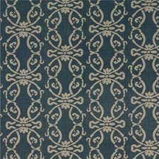Indigo Print Drapery and Upholstery Fabric by Threads