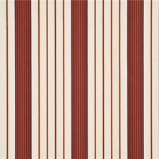 Damson/Paprika Stripes Drapery and Upholstery Fabric by Threads