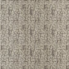 Pewter/Ebony Jacquards Drapery and Upholstery Fabric by Threads