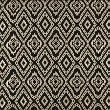 Black/Grey Embroidery Drapery and Upholstery Fabric by Threads