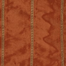 Terracotta Emb Wdt Drapery and Upholstery Fabric by RM Coco
