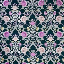 Sapphire Damask Drapery and Upholstery Fabric by Pindler
