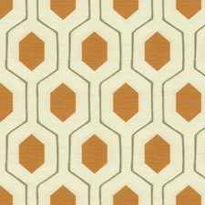 Pumpkin Contemporary Drapery and Upholstery Fabric by Kravet