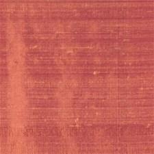 Salmon Silk Drapery and Upholstery Fabric by Clarke & Clarke