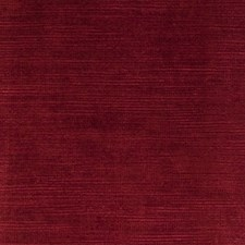 Claret Solid Drapery and Upholstery Fabric by Clarke & Clarke