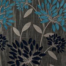 Aqua Abstract Drapery and Upholstery Fabric by Clarke & Clarke