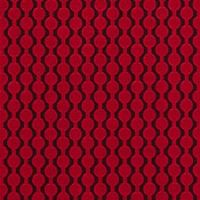 Red Weave Drapery and Upholstery Fabric by Clarke & Clarke