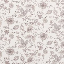 Taupe Floral Vine Drapery and Upholstery Fabric by Clarke & Clarke