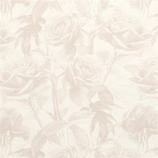 Linen Floral Medium Drapery and Upholstery Fabric by Clarke & Clarke