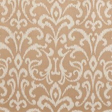 Sand Damask Drapery and Upholstery Fabric by Clarke & Clarke