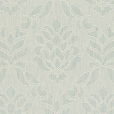 Duckegg Damask Drapery and Upholstery Fabric by Clarke & Clarke