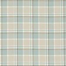 Mineral Plaid Drapery and Upholstery Fabric by Clarke & Clarke