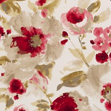 Chintz Drapery and Upholstery Fabric by Clarke & Clarke