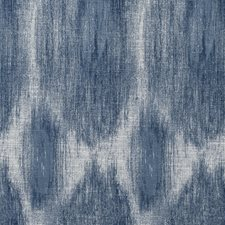 Indigo Ethnic Drapery and Upholstery Fabric by Clarke & Clarke