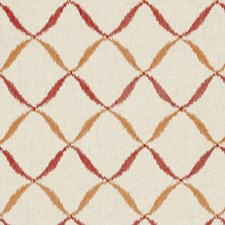 Spice Abstract Drapery and Upholstery Fabric by Clarke & Clarke