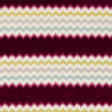 Raspberry Abstract Drapery and Upholstery Fabric by Clarke & Clarke