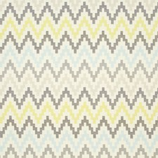 Chartreuse/Charcoal Weave Drapery and Upholstery Fabric by Clarke & Clarke