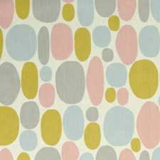 Sorbet Dots Drapery and Upholstery Fabric by Clarke & Clarke