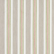 Spice/Linen Stripes Drapery and Upholstery Fabric by Clarke & Clarke
