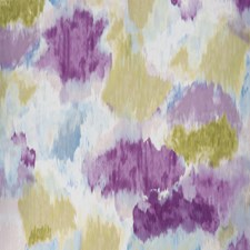 Damson/Sage Drapery and Upholstery Fabric by Clarke & Clarke