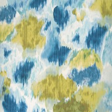Petrol/Olive Drapery and Upholstery Fabric by Clarke & Clarke