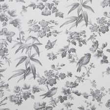 Grey Drapery and Upholstery Fabric by Clarke & Clarke