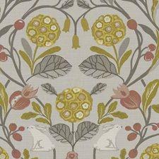 Ochre Drapery and Upholstery Fabric by Clarke & Clarke