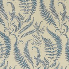 Denim Drapery and Upholstery Fabric by Clarke & Clarke