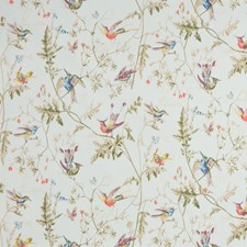 Duck Egg Botanical Drapery and Upholstery Fabric by Cole & Son