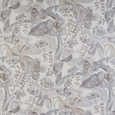 Feather Botanical Drapery and Upholstery Fabric by Kravet