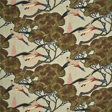 Sky Print Drapery and Upholstery Fabric by Mulberry Home