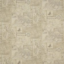 Sand Print Drapery and Upholstery Fabric by Mulberry Home