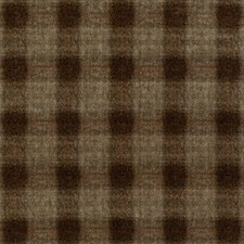 Woodsmoke Check Drapery and Upholstery Fabric by Mulberry Home