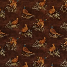 Spice Animal Drapery and Upholstery Fabric by Mulberry Home